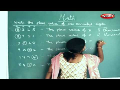 STD 4TH MATHS | How to Write the Place Value of the Encircled Digits | Knowing Numbers