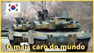 K2 Black Panther produzido pela Samsung e Hyundai , conheça os detalhes desse SUPER tanque!!!