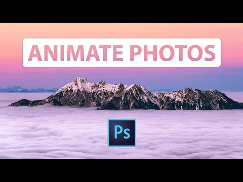How to ANIMATE a Still IMAGE in Photoshop CC