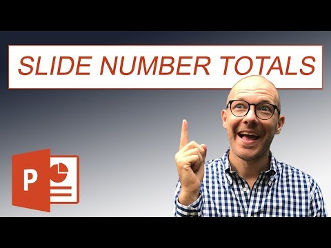 Create A PowerPoint Slide Number Of Total