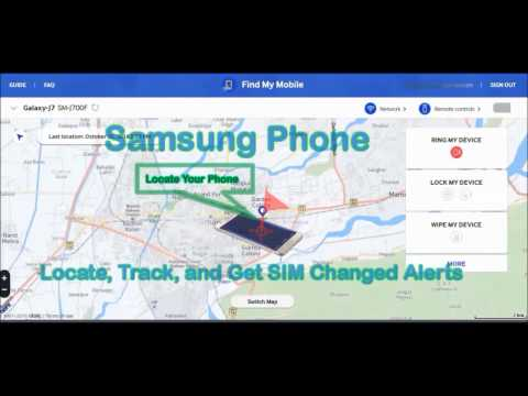 How to Track Samsung Mobile Location Online