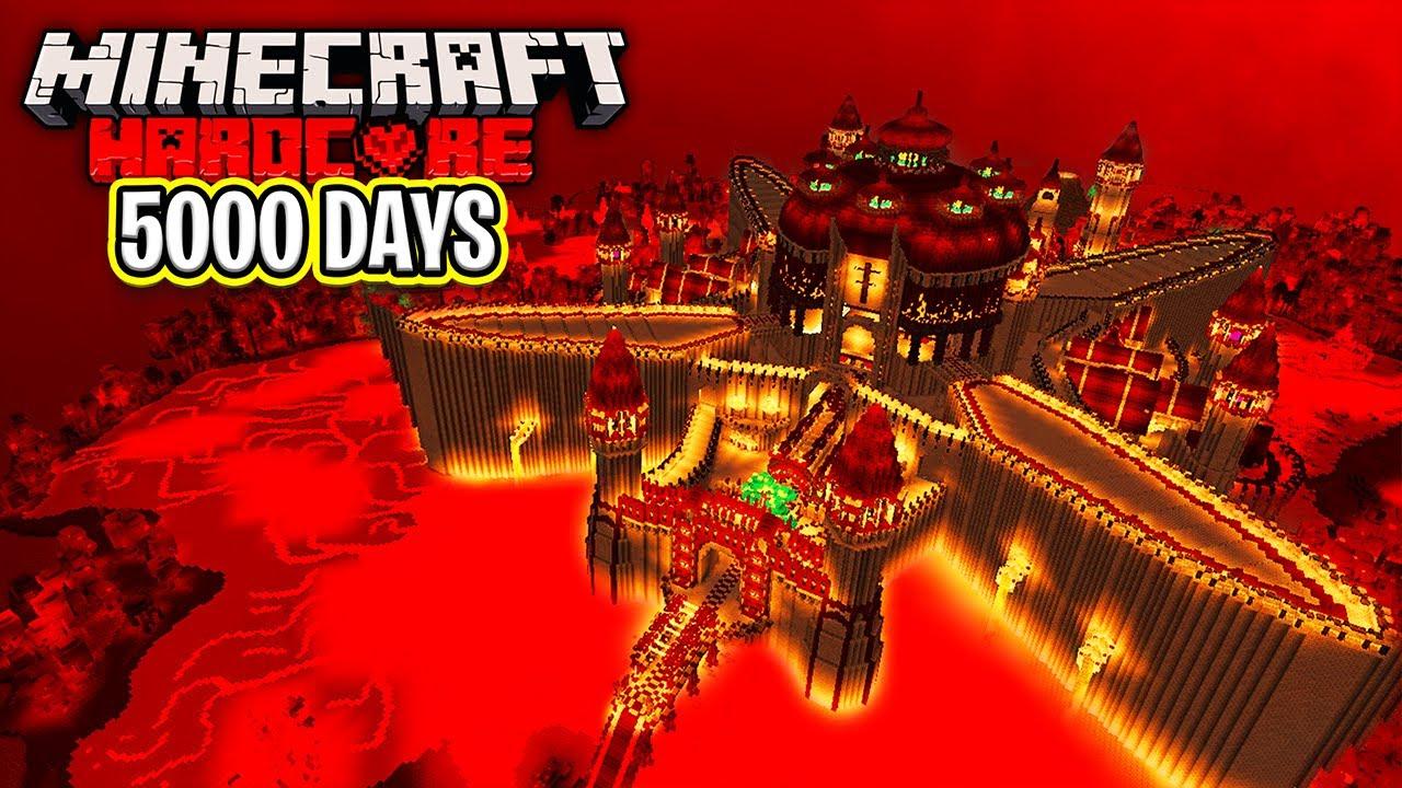 I Survived 5000 Days in Hardcore Minecraft - The Movie