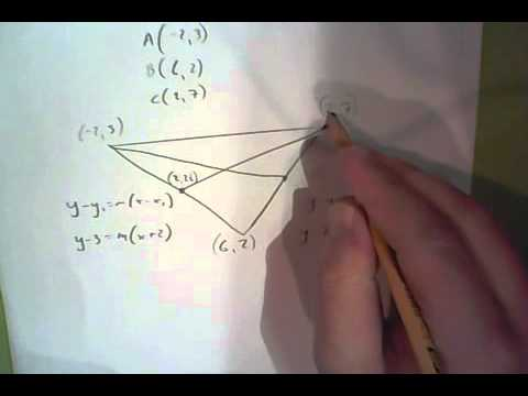Finding the centroid from coordinates