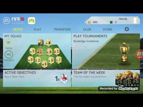 Money glitch on fifa 15 new season Android/IOS EP1 LV
