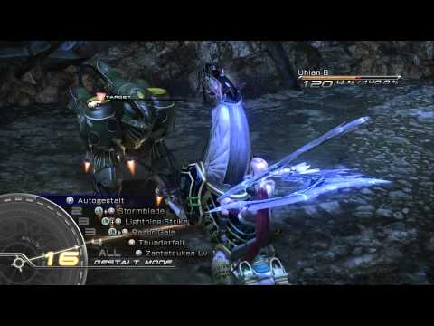 Final Fantasy XIII - Odin first summon