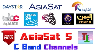 AsiaSat 5 @100 5°E ?? | Lots On C Band FTA Channels On Small