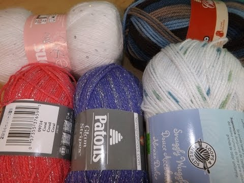 Haul Of Yarn that I Bought On Sale.