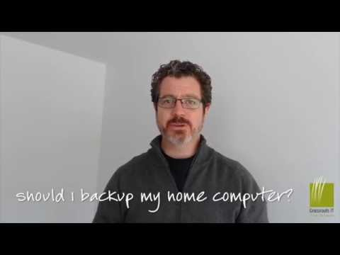 Should I backup my home computer?