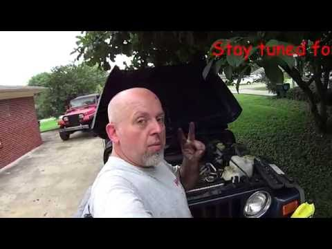 Jeep Wrangler TJ & LJ - Time to change the Fan Belt on the 4.0