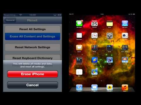 How to Sell Your Apple device SAFELY by COMPLETELY Restoring your iPhone, iPad, and iPod