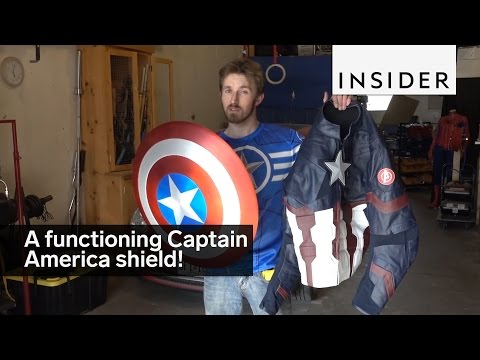 Captain America Shield That Works
