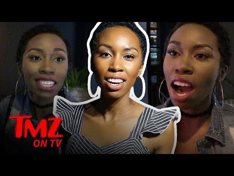 Black Panther Stunt Double Wants Black Girl Shampoo At Hotels! | TMZ TV