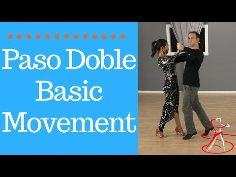 Paso Doble Dance Steps - Learn The Basic Movement