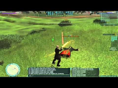 SWGEmu - Dark Jedi Master Solo - CL 291