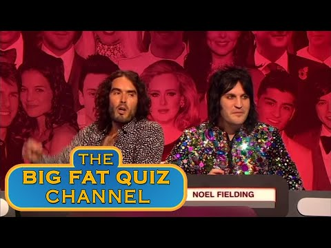 Why Haven't These kids Grown Up - Russell Brand   Big Fat Quiz Anniversary 2015