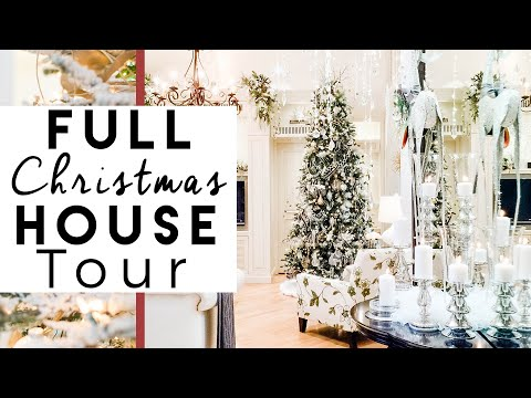 Christmas Decorating Home Tour   2016 Christmas at The Robeson's