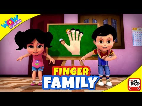 Play and Learn Good Habits with FINGER FAMILY SONG by VIR: The ROBOT BOY | Indian Music for Children