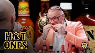 Riff Raff Goes Full Burly Boy on Some Spicy Wings | Hot Ones