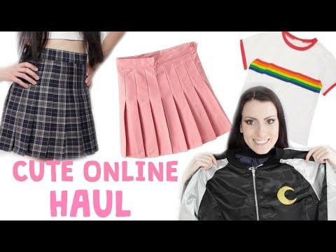 Cute Online Haul   ItGirlShop & JustFashionNow