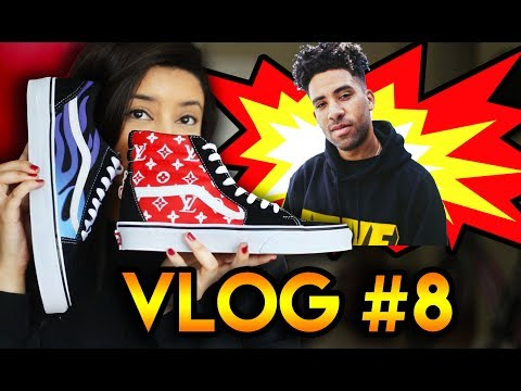 WORK VLOG #8 | MAKING SHOES FOR SUPERDUPERKYLE | A WEEK IN THE LIFE AS A CUSTOMIZER