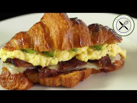 Breakfast Sandwich – Bruno Albouze – THE REAL DEAL
