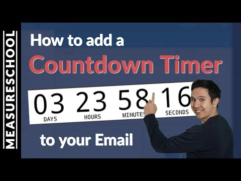 How to add a Countdown Timer to your Email