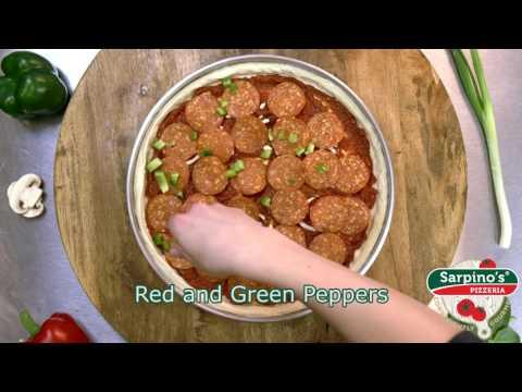 Venetian Pizza - Sarpino's Pizzeria Video