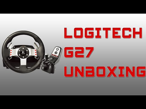 Logitech G27 Racing Wheel Unboxing/installation