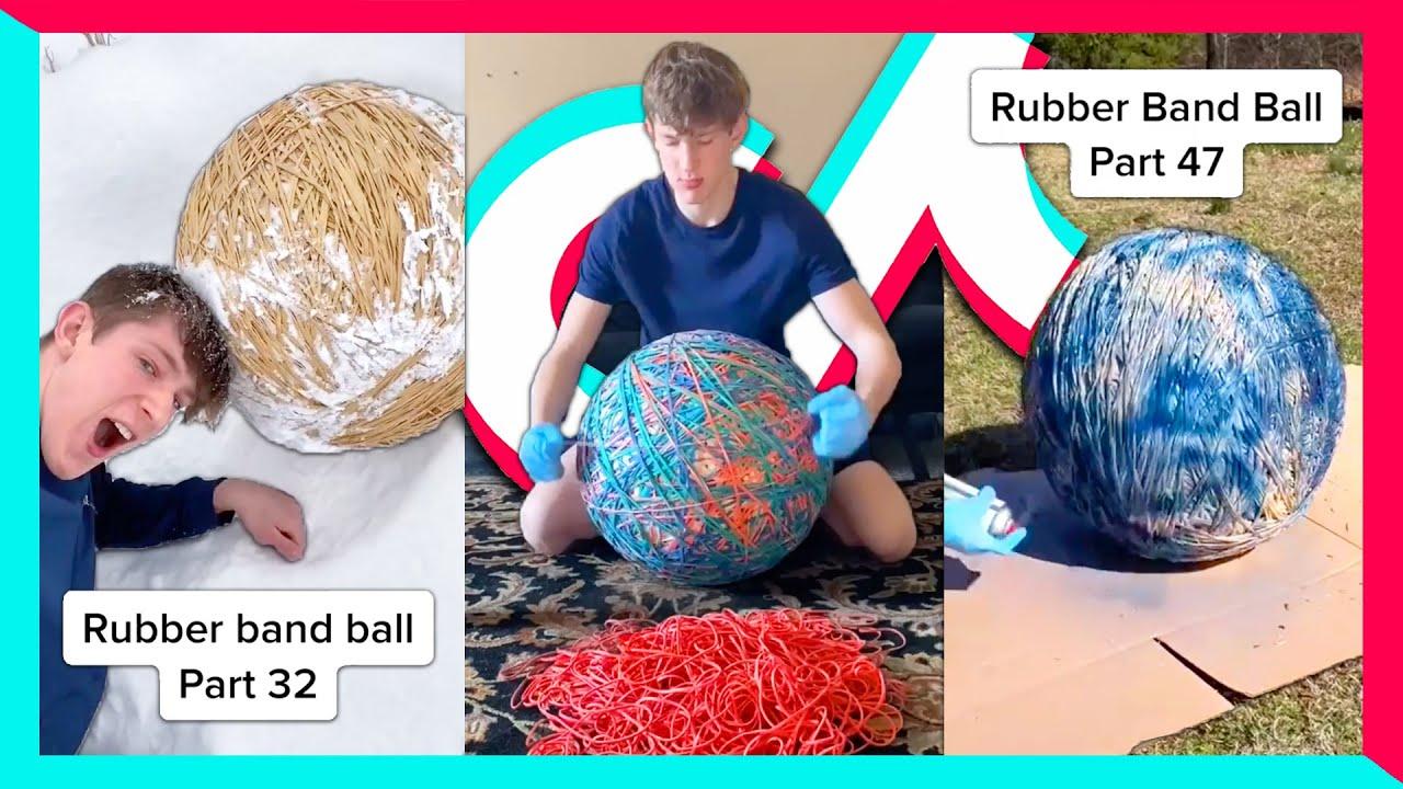 Dylan Ayres RUBBER BAND BALL TikToks (Part 1 - 47)