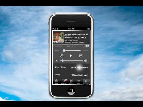 iPod Touch - Audiobook App