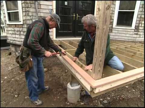 Building the Backyard Deck