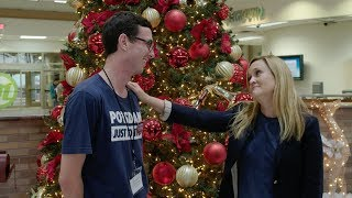"""Sam Ran Into John Oliver While Filming """"Christmas On I.C.E.""""   Full Frontal on TBS"""