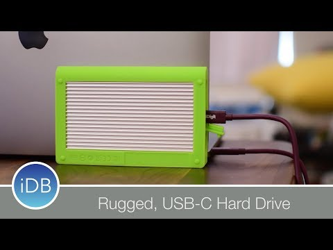 CalDigit Tuff Drive is a Well Protected Portable Drive for Your Mac