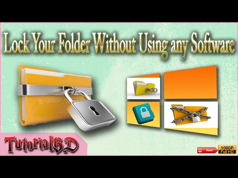 Create a Password Protected Folder Without any Extra Software - Keep Files Safe!