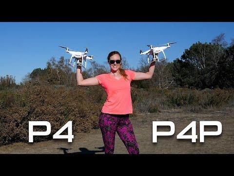 PHANTOM 4 PRO vs. PHANTOM 4 - Drone Hover Test
