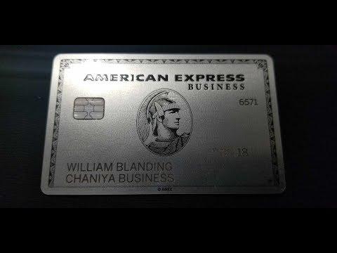 I Got It The American Express Platinum Business Card