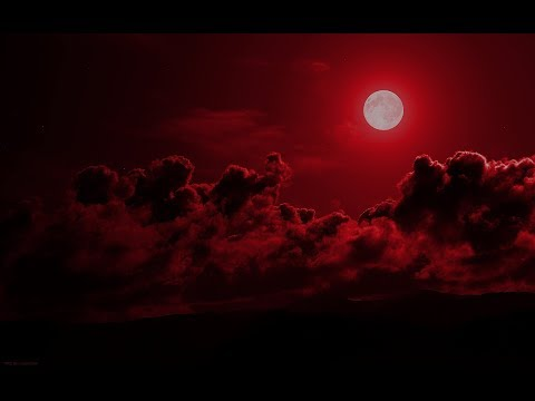Blood Moon Red Sky
