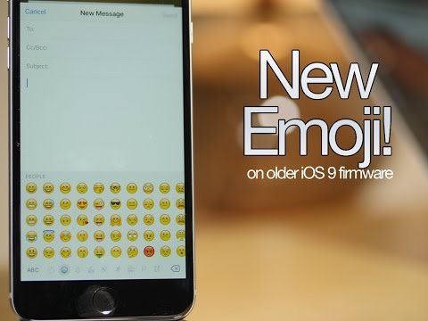How to get new iOS 9.1 emojis on jailbroken iOS 9.0.2!