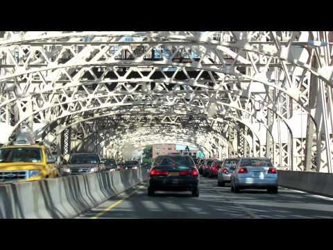 Crossing the Queensboro (59th Street Bridge) from Long Island City to Manhattan