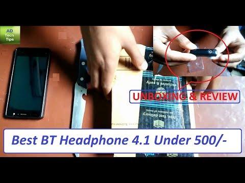 Unboxing & Review | Best Bluetooth Headphone Under 500/- | Lambent Bluetooth 4.1