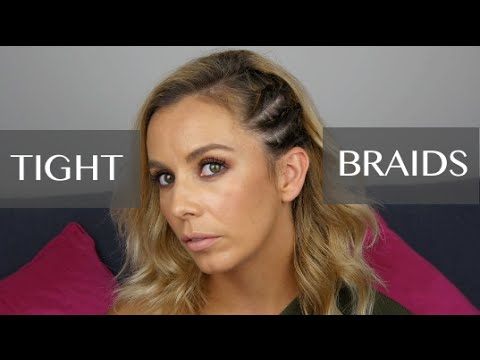 Summer Tight Braids/Plaits on Side of Head Hairstyle