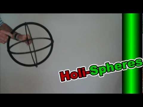 Easy Christmas Light Balls - HoliSpheres