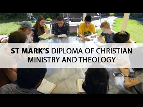 St Mark's Diploma of Christian Ministry & Theology