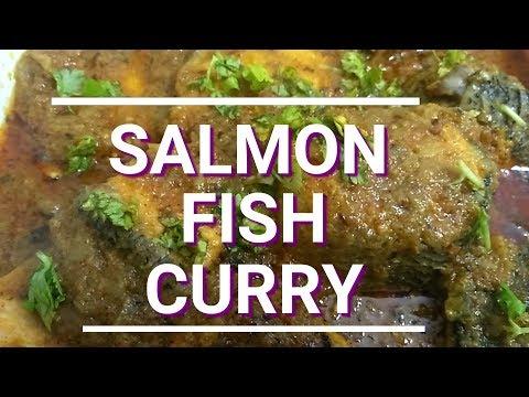 SALMON FISH CURRY RECIPE by Fatma's Kitchen