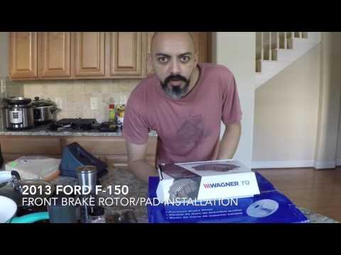 2013 Ford F-150 - Front Brake Rotor/Pad Installation