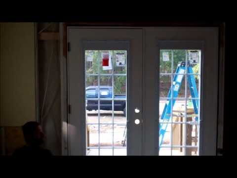 How to install a french door at Long Beach NC