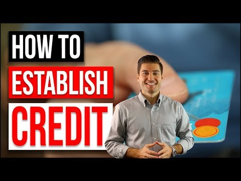 HOW TO ESTABLISH CREDIT 2018