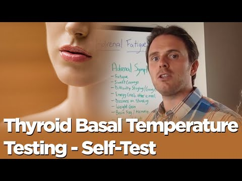 Thyroid Problem or Adrenal Problem - Thyroid Basal Temperature Testing - Self-Test