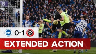 Brighton and Hove Albion 0-1 Sheffield United | Extended Premier League highlights