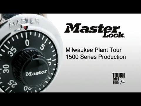 Master Lock | Milwaukee Plant Tour | 1500 Series Padlocks